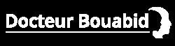 Logo docteur hocine bouabid blanc